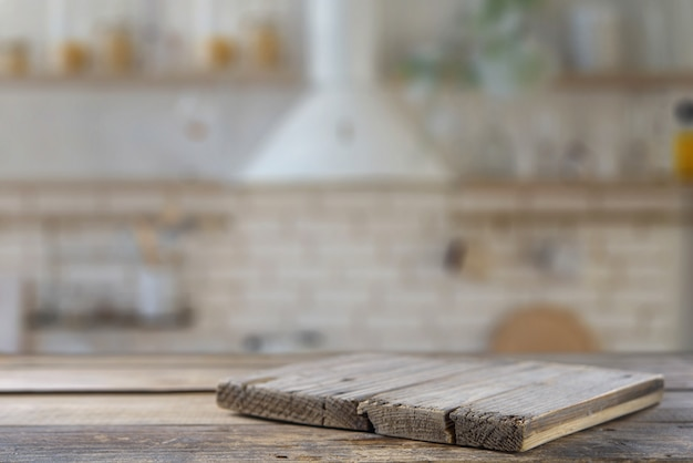 Tavolo da cucina con piano cucina. modello