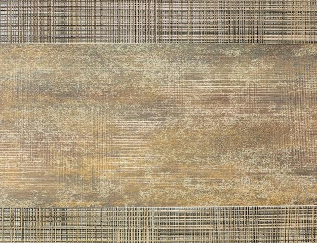 Piastrella da cucina per pavimenti modello in legno mosaico vintage