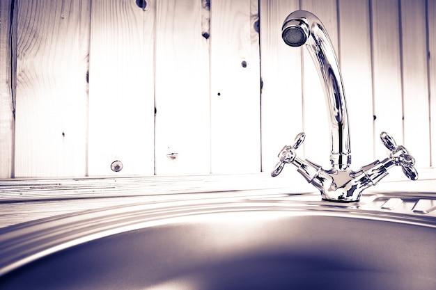 La gru dell'acqua da cucina