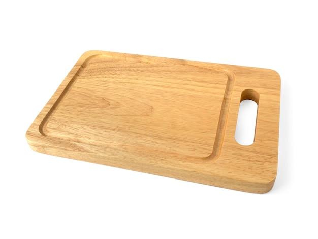 Macellaio di legno della cucina con impiccagione isolata