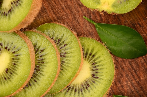 Primo piano del kiwi