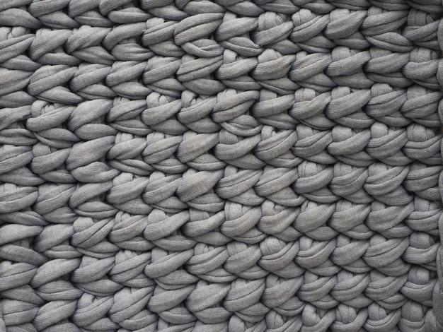 Sfondo a maglia. sfondo grigio