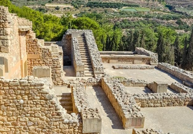 Palazzo di cnosso a creta, grecia palazzo di cnosso