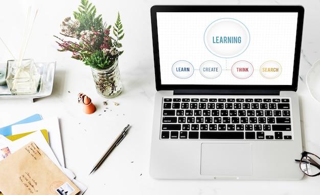 Conoscenza apprendimento studio educazione intelligence concept