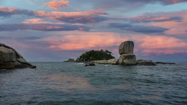 Koh hinson lipe island ta ru tao national parkasia satun province thailandia