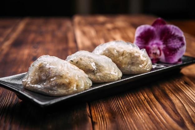 Tortini coreani pigmei e farciti