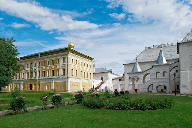 Cremlino della città antica di rostov veliky.russia