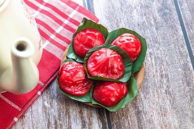 Kue ku è il cibo tradizionale dell'indonesia