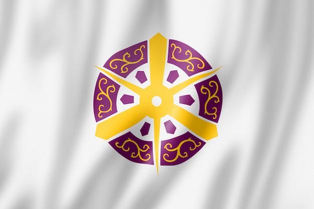 Bandiera della città di kyoto, giappone
