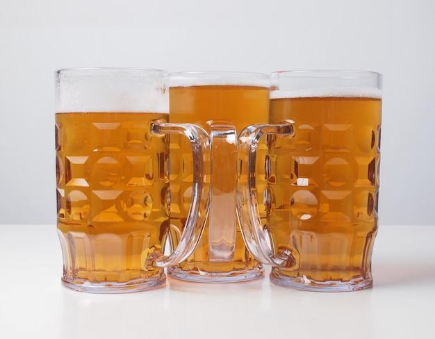 Bicchieri da birra chiara