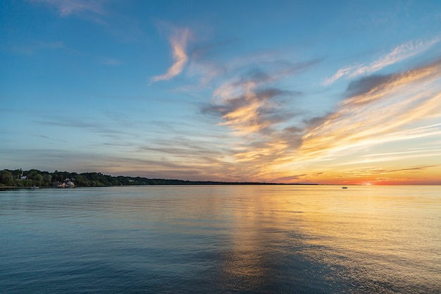 Lago ontario, rochester, stati uniti