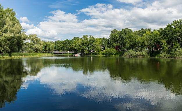 Lago nel parco