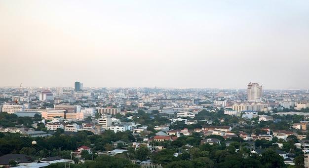 Paesaggio della città di bangkok thailandia