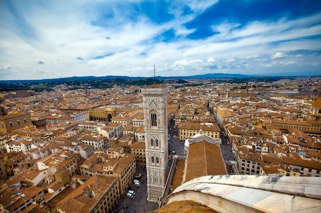 Paesaggio della città firenze in italia