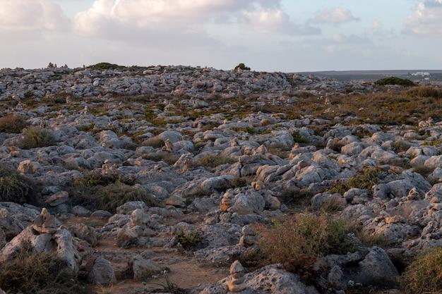 Paesaggio della costa di sagres Foto Premium