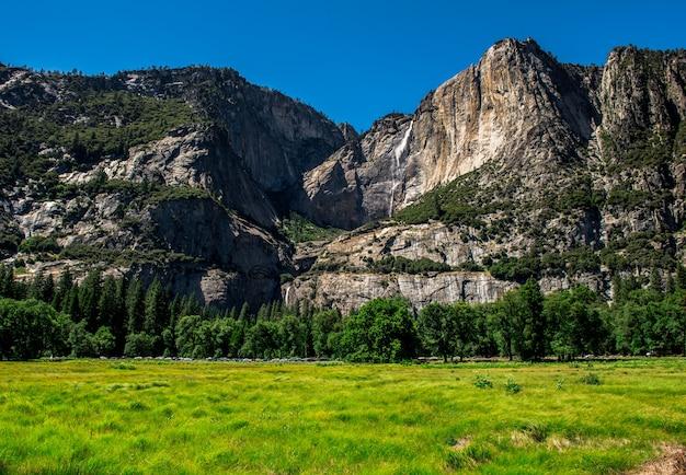 Paesaggio del parco nazionale di yosemite, fotografia di paesaggio.