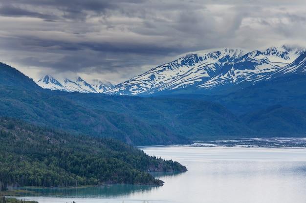 Paesaggi dell'alaska, stati uniti