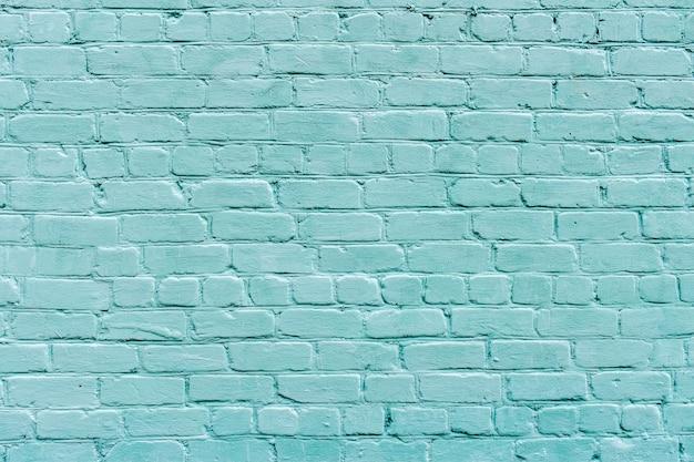 Grande struttura del muro di mattoni blu-chiaro, superficie strutturata. sfondo di mattoni. muro di mattoni blu