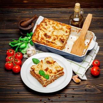Lasagna in teglia