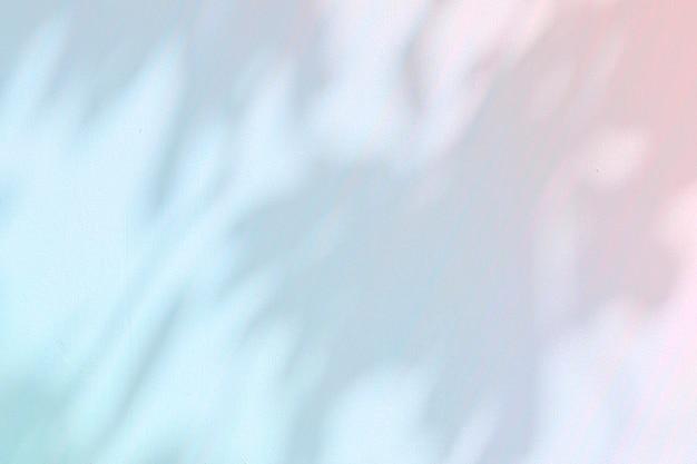 Ombre di foglie su uno sfondo di cemento illustrazione