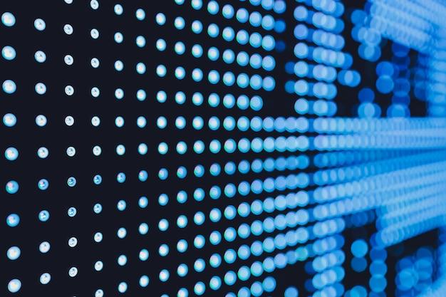 Fondo astratto di tecnologia del modello della luce principale. avvicinamento