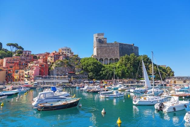 Lerici è una cittadina situata sulla costa ligure d'italia in provincia di la spezia.
