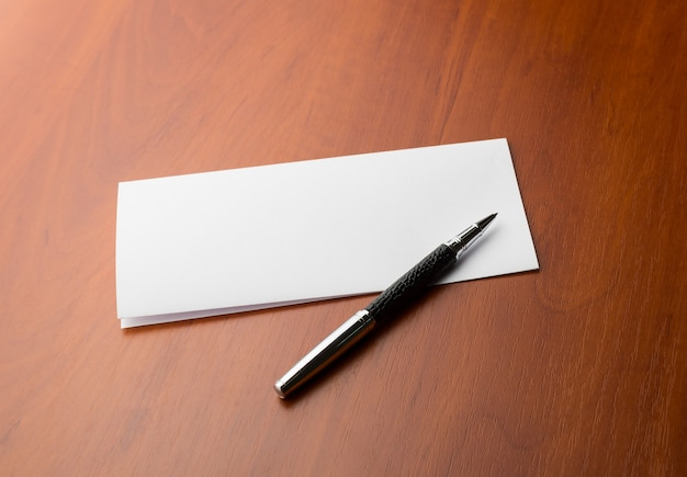 Lettera e penna