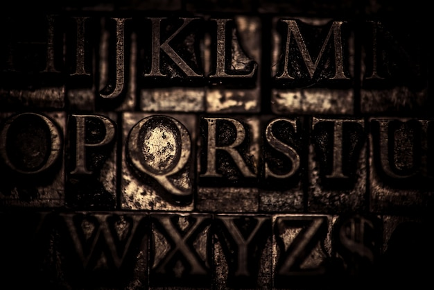 Sfondo tipografico