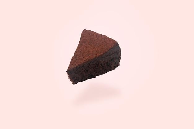 Torta al cioccolato levitante