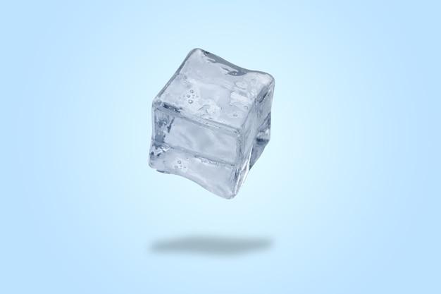 Cubetto di ghiaccio levitante