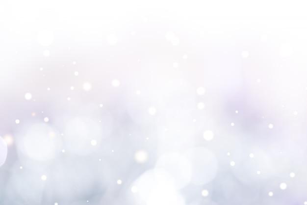 Luce bokeh blu chiaro. sfondo astratto