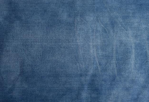 Denim azzurro per sartoria, full frame, primo piano