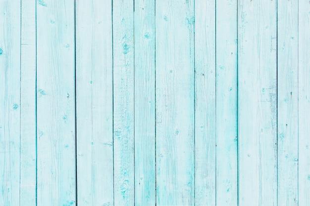 Priorità bassa di struttura delle plance vecchie verniciate azzurro chiaro