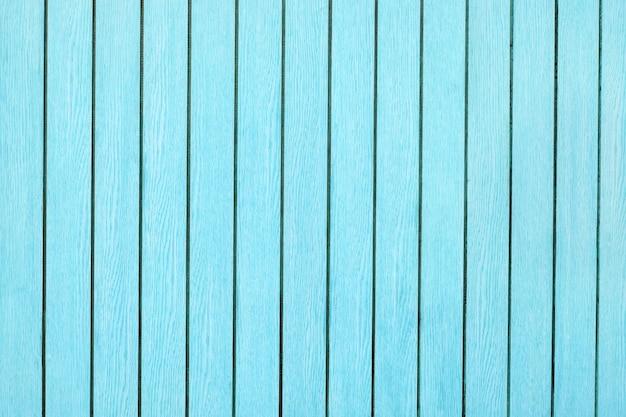Sfondo di assi di legno verde blu chiaro e luminoso