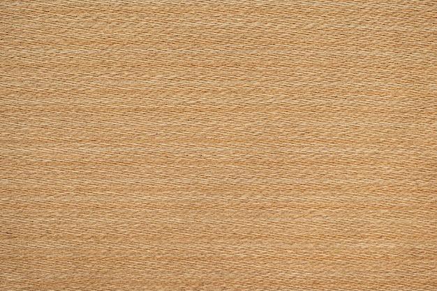 Marrone chiaro tessitura tela tessuto texture di sfondo.