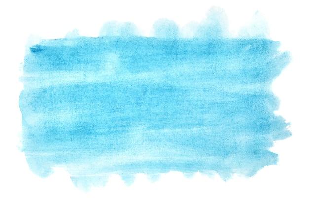 Sfondo acquerello blu ciano chiaro - spazio per il tuo testo