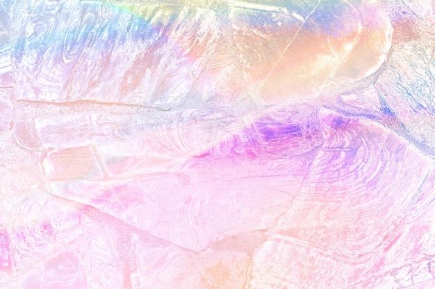 Sfondo strutturato olografico rosa chiaro