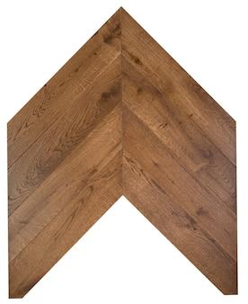 Pannelli di parquet in legno chiaro per motivo a spina di pesce