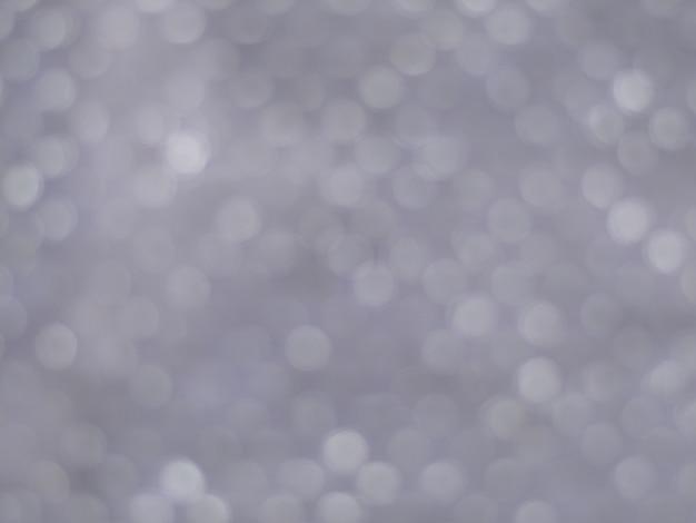 Luci d'argento bokeh sfondo