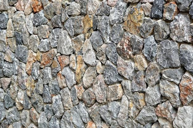Fondo e struttura del muro di pietra calcarea