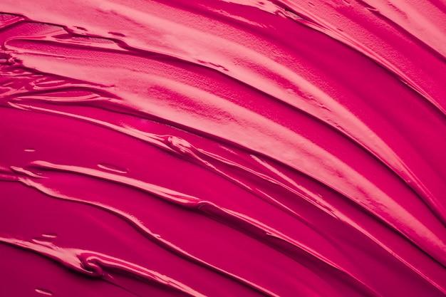 Rossetto viola macchia onda texture di sfondo lipstick