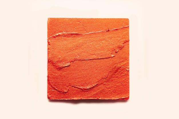 Fondotinta di struttura dell'oro dell'onda della sbavatura del rossetto