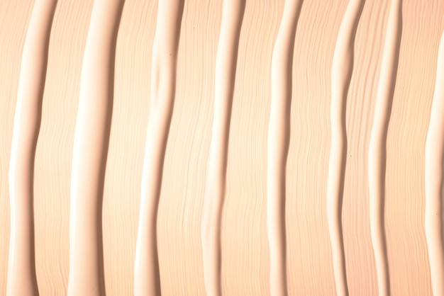 Texture fondotinta liquido. trucco per le donne. vista dall'alto.