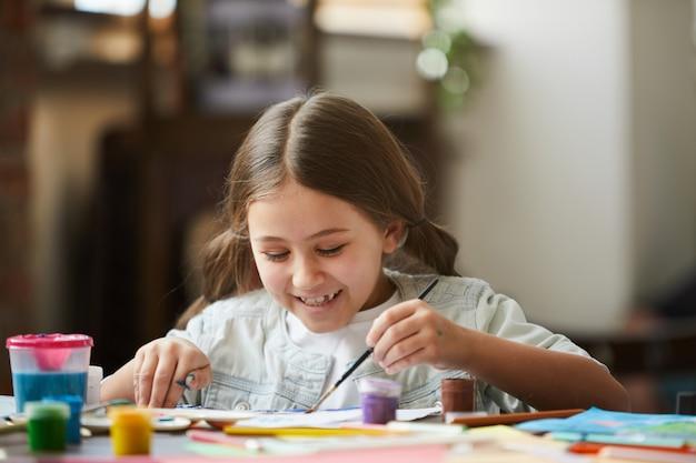 Immagine della pittura della bambina