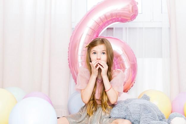 Compleanno della bambina, 6 anni