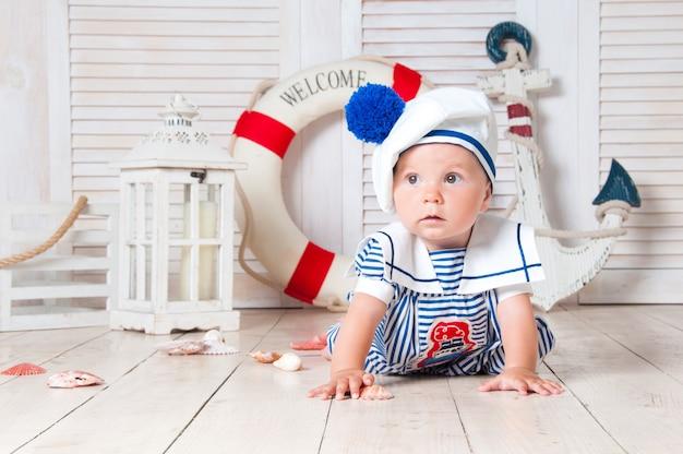 Un piccolo viaggiatore marinaio