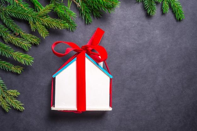 Casetta in legno, regalo di natale