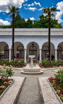 Livadia crimea livadia palace patio