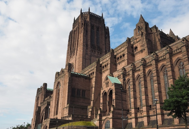 Cattedrale di liverpool a liverpool