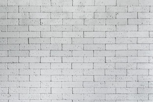 Muro di mattoni bianco in stile loft